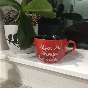 There's always lipstick mug